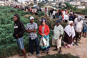 South Africans Vote As Mandela's Governing Party Strives ...