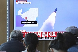 North Korea Launches 2 Suspected Short-Range Missiles In A New Test