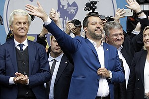 Italy's Matteo Salvini Hopes To Lead Nationalist Wave In ...