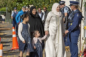 Accused Shooter In New Zealand Mosque Attacks Charged Wit...