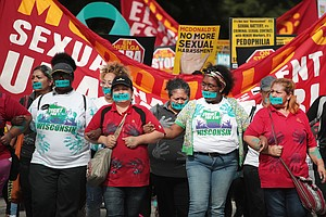 McDonald's Protests Over Sexual Harassment Grow As Shareh...