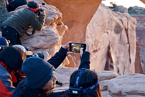 Instagramming Crowds Pack National Parks