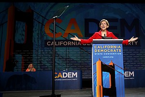 Democratic Candidates Descend On California And Offer A P...