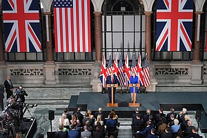 Trump Praises May's Likely Successors, Says He Would Have...
