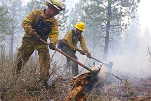 More Wildfires Bring Focus On How All That Smoke May Harm Firefighters