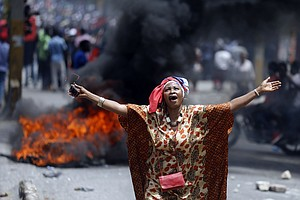 Protesters Demand Resignation Of Haitian President Over C...