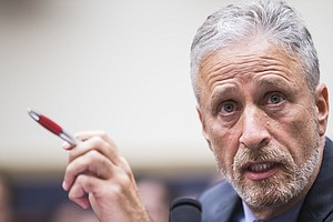 Jon Stewart Blasts Lawmakers In Hearing For Sept. 11 Vict...