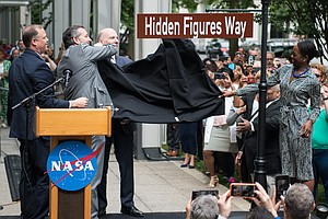 Street In Front Of NASA Headquarters Renamed To Honor 'Hi...