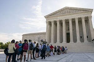 Supreme Court Justices Split Along Unexpected Lines In 3 ...
