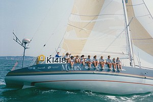 With An All-Female Crew, 'Maiden' Sailed Around The World...