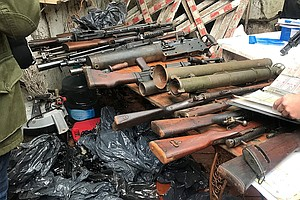 U.S. Agents Announce Thousands Of Weapons Seized In 'Operation Patagonia Expr...