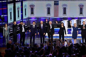 Recap: Night 2 Of The Democratic Primary Debate In 100 Wo...