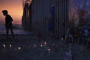 Border Community Remembers A Father And Daughter Who Drowned Crossing The Rio...