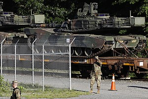 Tanks, Flyovers And Heightened Security: Trump's Fourth O...