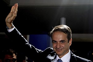 Greek Voters Welcome Centrist Government, Reject Leftists...