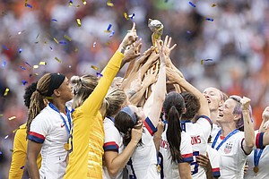 Equal Pay For Equal Play; The U.S. Women's Soccer Team Ta...