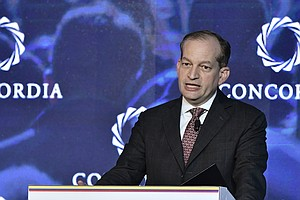 Trump Defends Labor Secretary Acosta Over Epstein Plea Deal