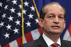 Labor Secretary Alex Acosta Defends His Handling Of Jeffrey Epstein Plea Deal