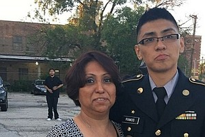 Photo for Facing Deployment While Fearing That Family Members Will Be Deported