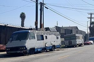 Amid Homelessness Crisis, Los Angeles Restricts Living In...