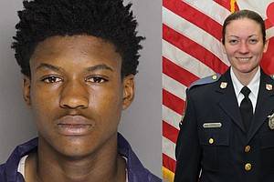 Teen Gets Life Sentence For Killing Police Officer In Baltimore County
