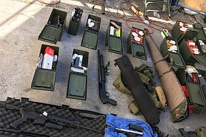 Police Seize Rifles, High-Capacity Magazines From Man Wan...