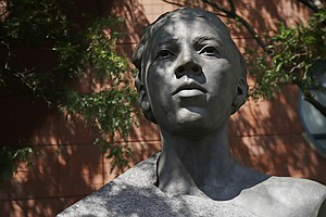 New Statue At U.S. Open Honors African American Tennis Pioneer Althea Gibson