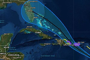 Tropical Storm Dorian Puts Puerto Rico On Hurricane Watch; Florida Also In Path