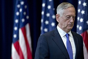 In Book, Former Defense Chief Mattis Sideswipes President...