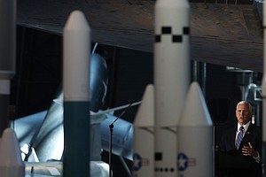 White House Hopes Revived Space Command Is One Giant Leap Toward Proposed Spa...