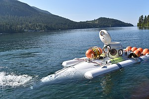 Submarine Hobbyists Help Researchers On Montana's Flathead Lake