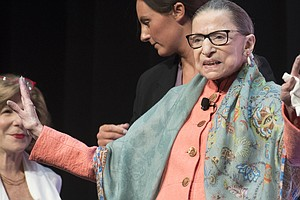After Cancer Treatment, Ginsburg Says She'll Be Ready For...