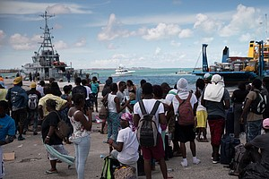 Getting Aid To Bahamas Is A Logistical Nightmare As Support Systems 'Do Not E...