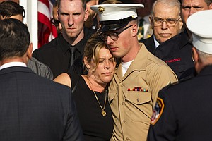 Firefighter Laid To Rest 18 Years After Sept. 11 Attacks