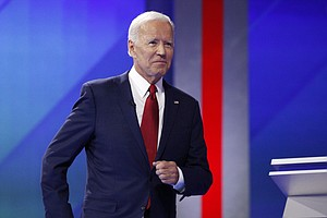 Biden Tries To Clarify His Record On Iraq War During Demo...