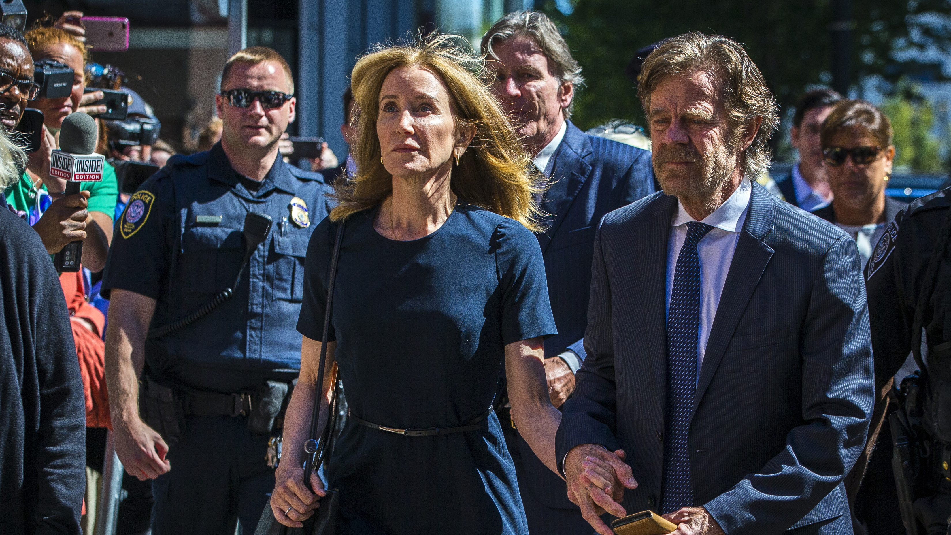 Actress Felicity Huffman Sentenced To 14 Days In College