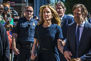 Actress Felicity Huffman Sentenced To 14 Days In College Admissions Scandal