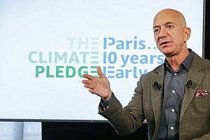 Amazon Makes 'Climate Pledge' As Workers Plan Walkout