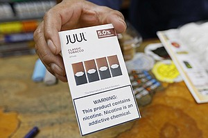 Photo for California Sues E-Cigarette Maker Juul Over Ads, Youth Sales