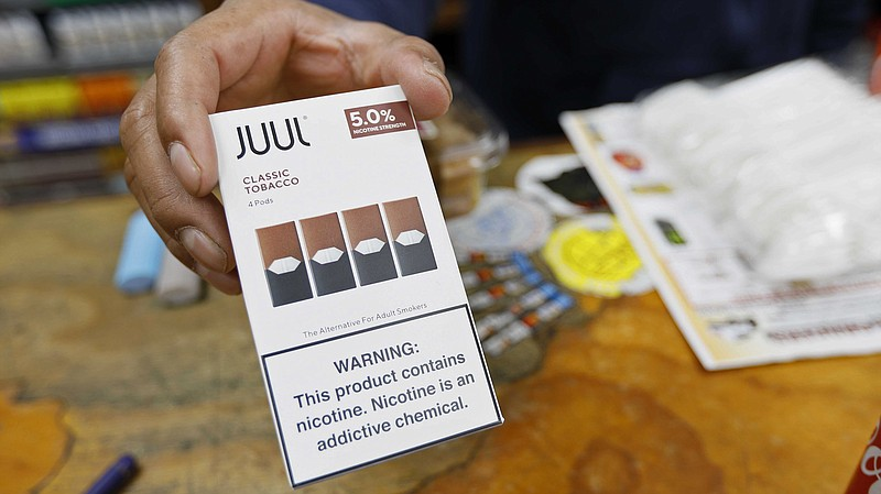 Juul announced that its CEO is stepping down and the company will stop advert...