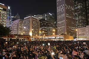 Hong Kong Braces For Massive Weekend Protests
