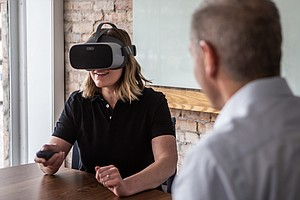 Virtual Reality Goes To Work, Helping Train Employees