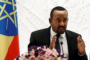 Nobel Peace Prize Goes To Ethiopia's Prime Minister Abiy Ahmed