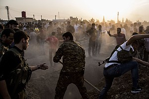 Turkey Claims To Have Won A Key Syrian Border Town From K...