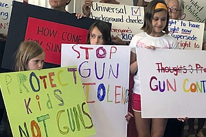 Poll: Number Of Americans Who Favor Stricter Gun Laws Con...