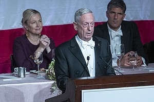 Mattis Takes Swipe At Trump: 'I Earned My Spurs On The Ba...