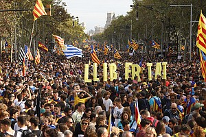 Protests Rock Spain's Catalonia Region But Residents Are ...