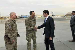 Defense Secretary Esper Arrives In Afghanistan To Devise ...