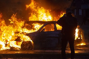Chilean President Suspends Fare Hikes; 3 Die In Supermarket Fire As Protests ...