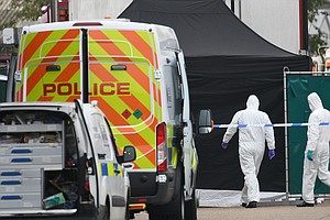 39 Bodies Discovered In Truck Container In Southeast England